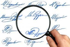 Что грозит за подделку подписи и в каких случаях