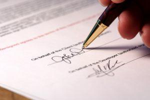 Обязательный реквизит договора