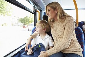 Детский билет автобус