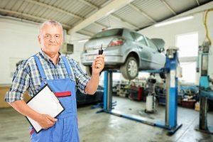 Оформление заказ наряда на ремонт автомобиля